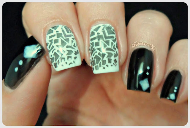 Black-White-Nail-Art-Challenge-Stamping-barry-m-konad-stamping