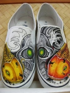 The Art Of Up Cycling Upcycled Shoes Crazy Wacky