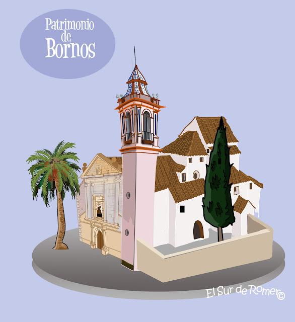 """<img src="""" iglesia Domingo Guzman.jpg"""" alt=""""dibujo de iglesias de bornos""""/>"""