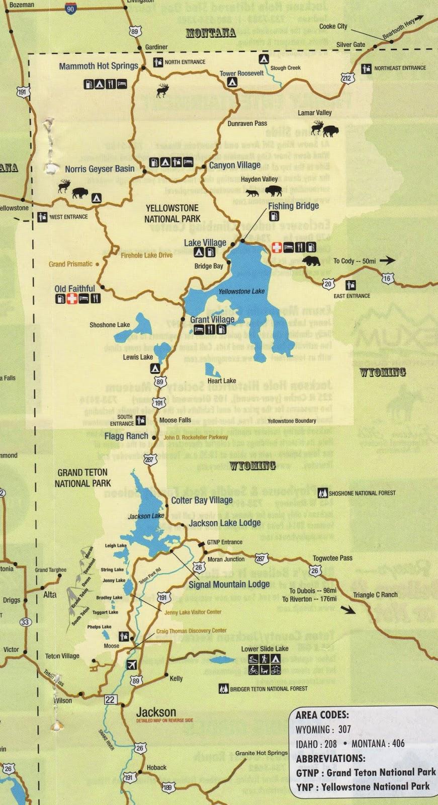 grand national park map - Basilosaur.us