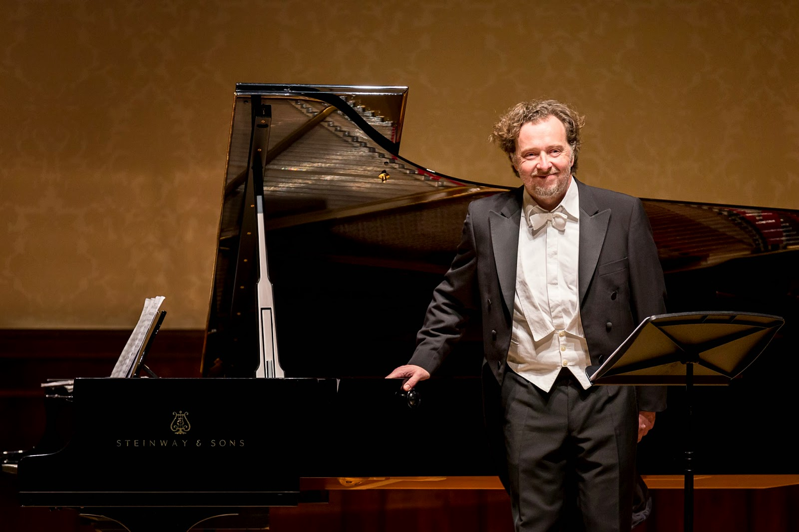 Christian Gerhaher at the Wigmore Hall - photo credit Simon Jay Price