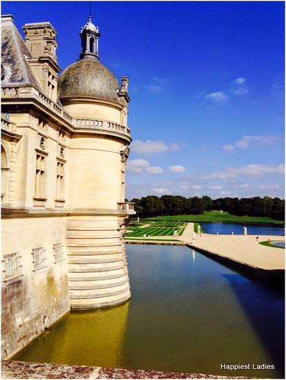 palace garden Chantilly france
