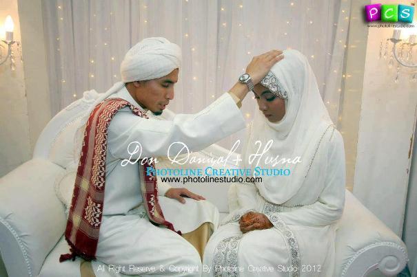 gambar amalan sunnah majlis perkahwinan ustaz don daniyal husna