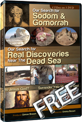 2 Films on 1 DVD. Part 1 & 2 of Our Search for Sodom and Gomorrah documentary.