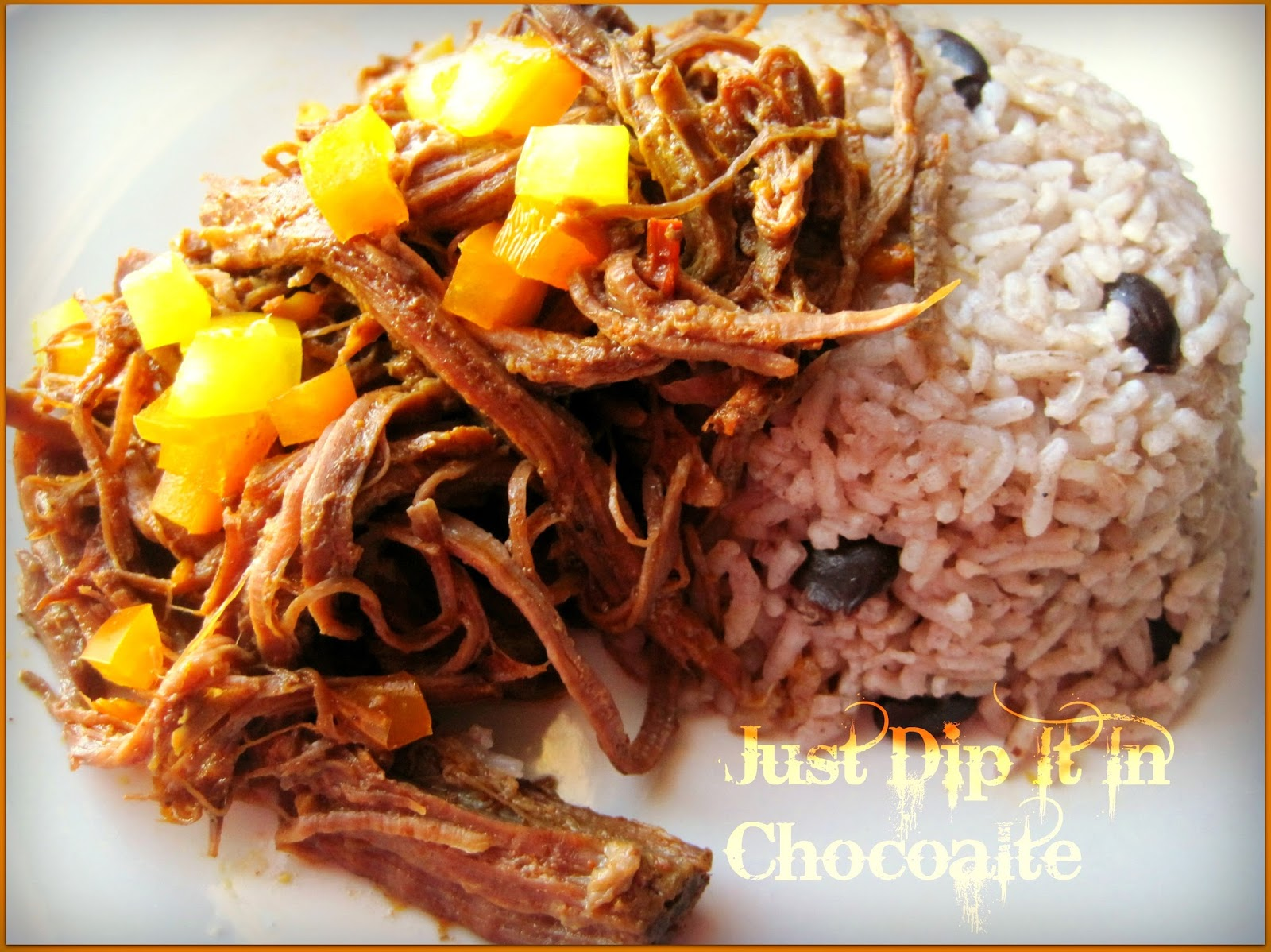 Just Dip It In Chocolate: Easy Slow Cooker Ropa Vieja Recipe