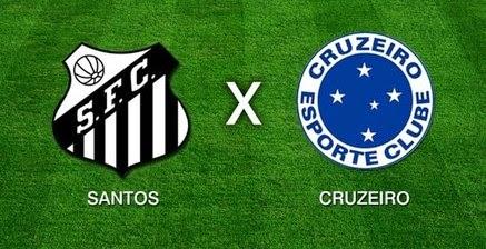 Aquecimento: Santos x Cruzeiro