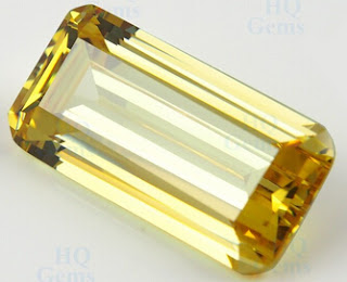AAAAA_Quality_CZ_Yellow_Color_Emerald_Cut_Stones_Manufacturer