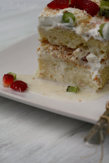 "... Tres Leches Cake . ""My"" Tres Leches Cake. None of that store-bo..."