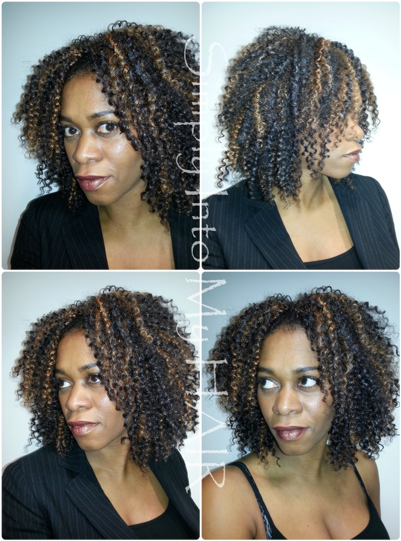Crochet Braids with Synthetic Hair