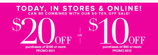 New York & Company Printable In Store Coupons