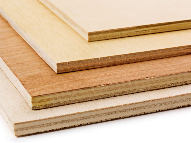 Marine plywood applications for grade