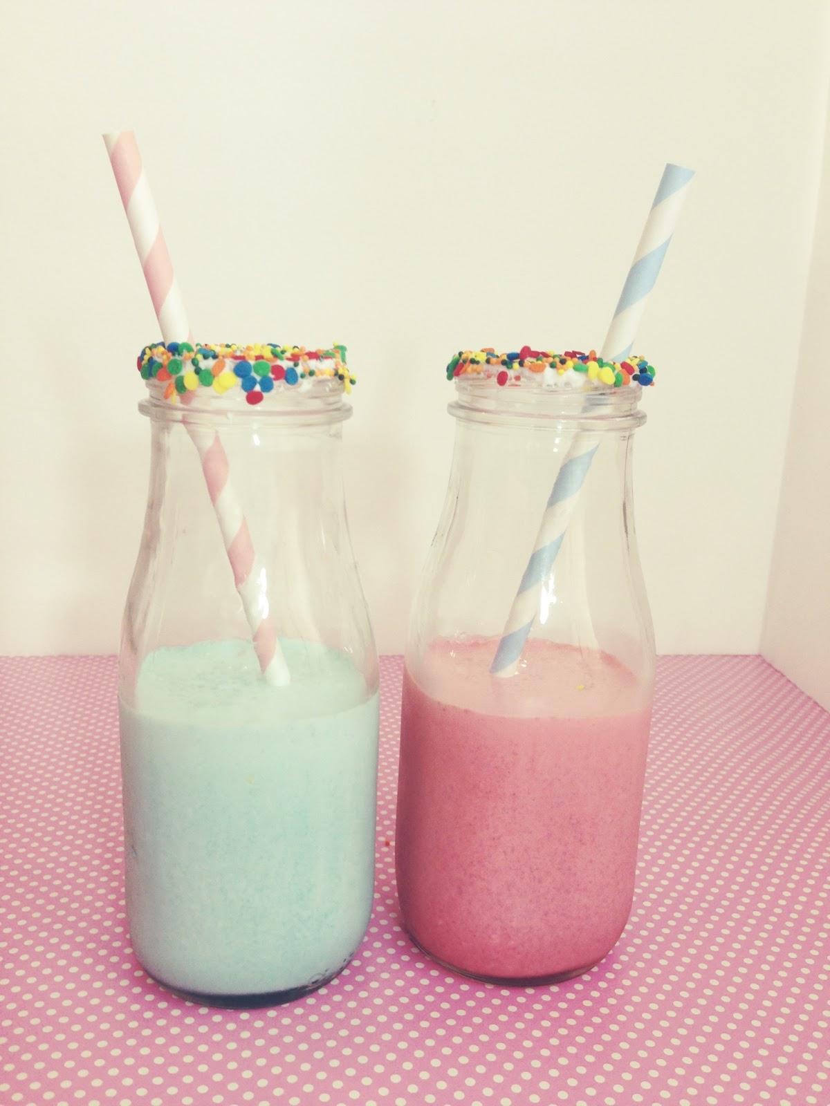 Cupcake Milkshakes | Red Velvet & Cotton Candy - Sweet Emelyne's