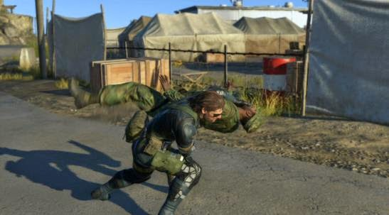 Gameplay Metal Gear Solid V Ground Zeroes