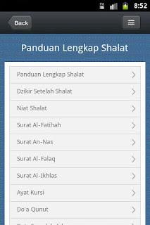 Panduan Shalat Lengkap - Bacaan Sholat dan Tata Cara Sholat disertai