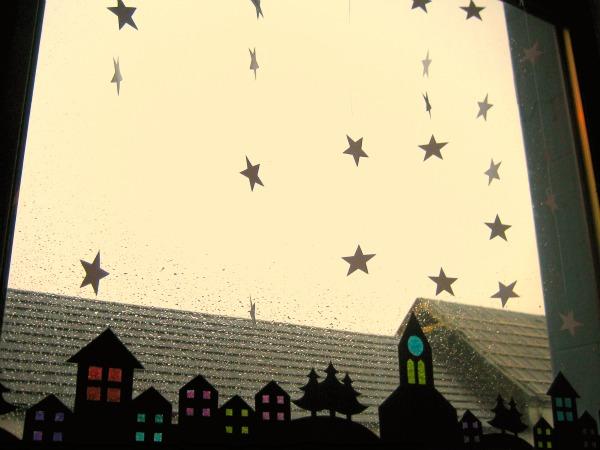 Winter Window Village - Our Handmade Home