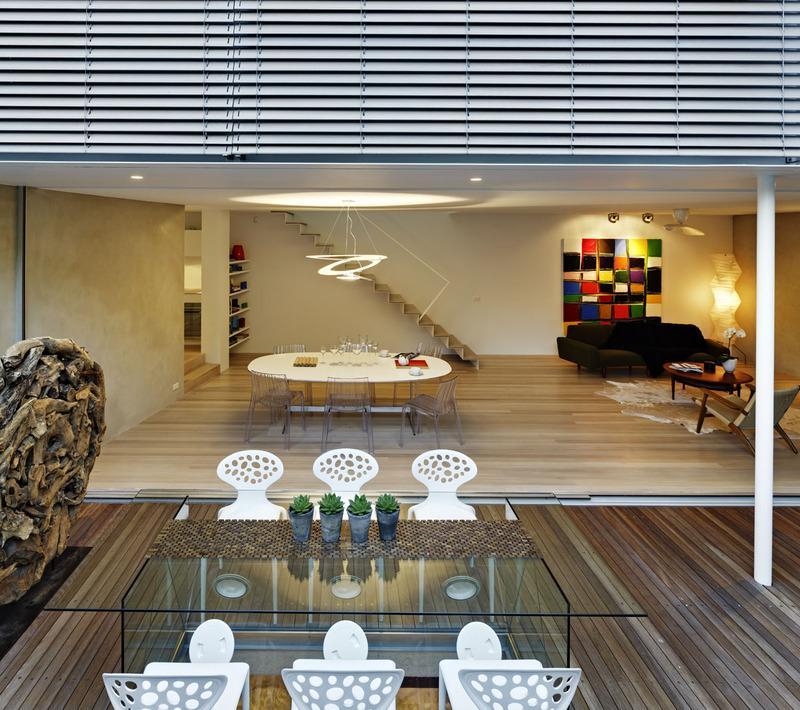 Casas minimalistas y modernas patios modernos y pequenos for Decoracion patios pequenos