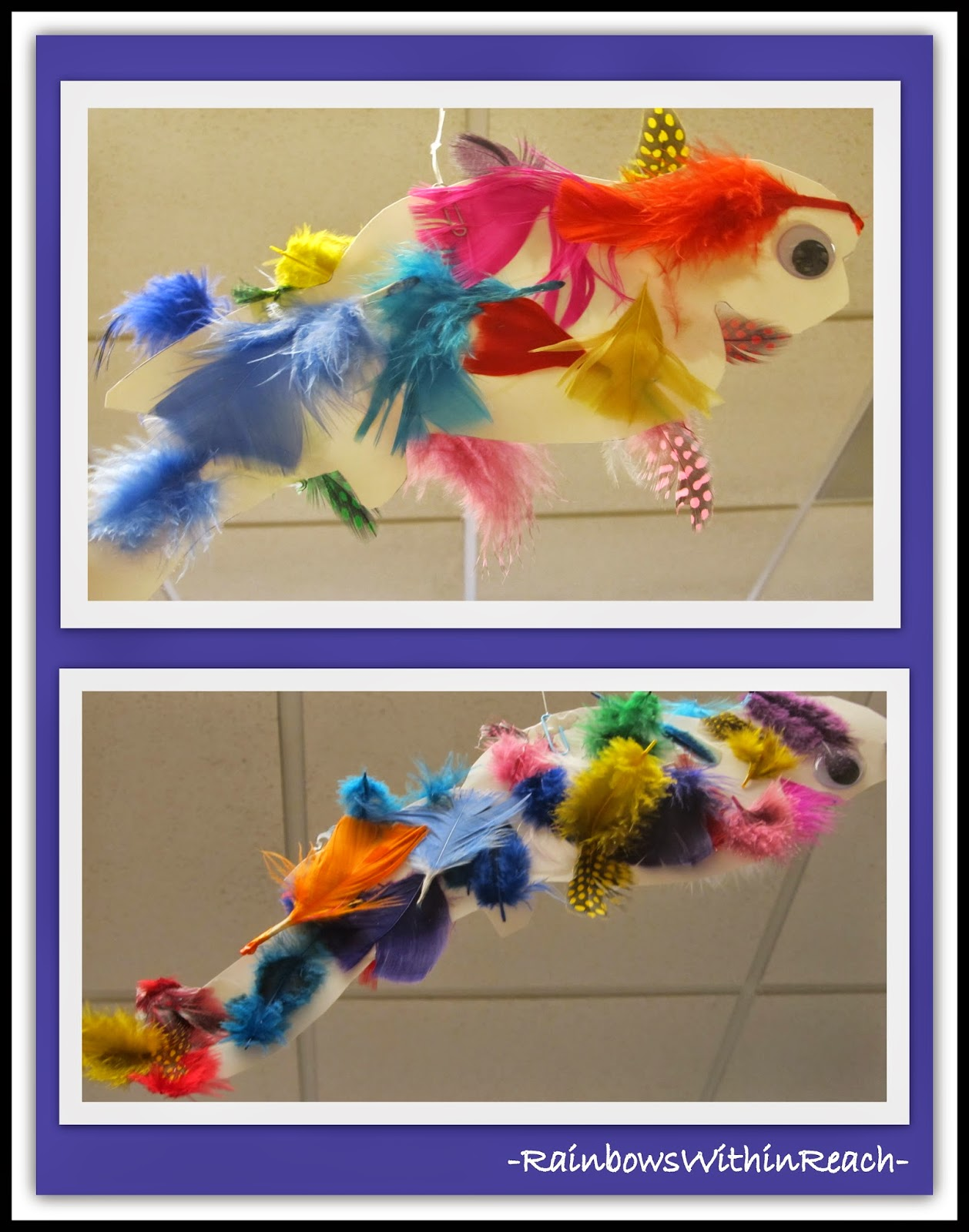 Ocean Fish with Feathers! {Ocean RoundUP at RainbowsWithinReach}