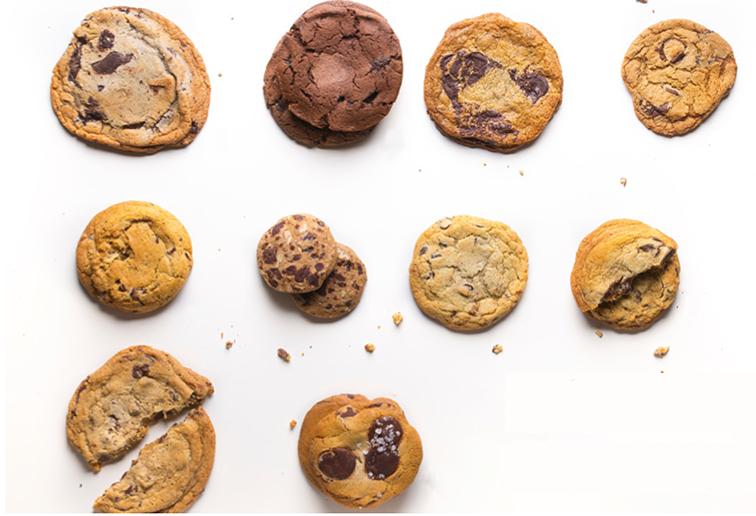 Best cookies in NYC, chocolate chip cookies, cookie monster