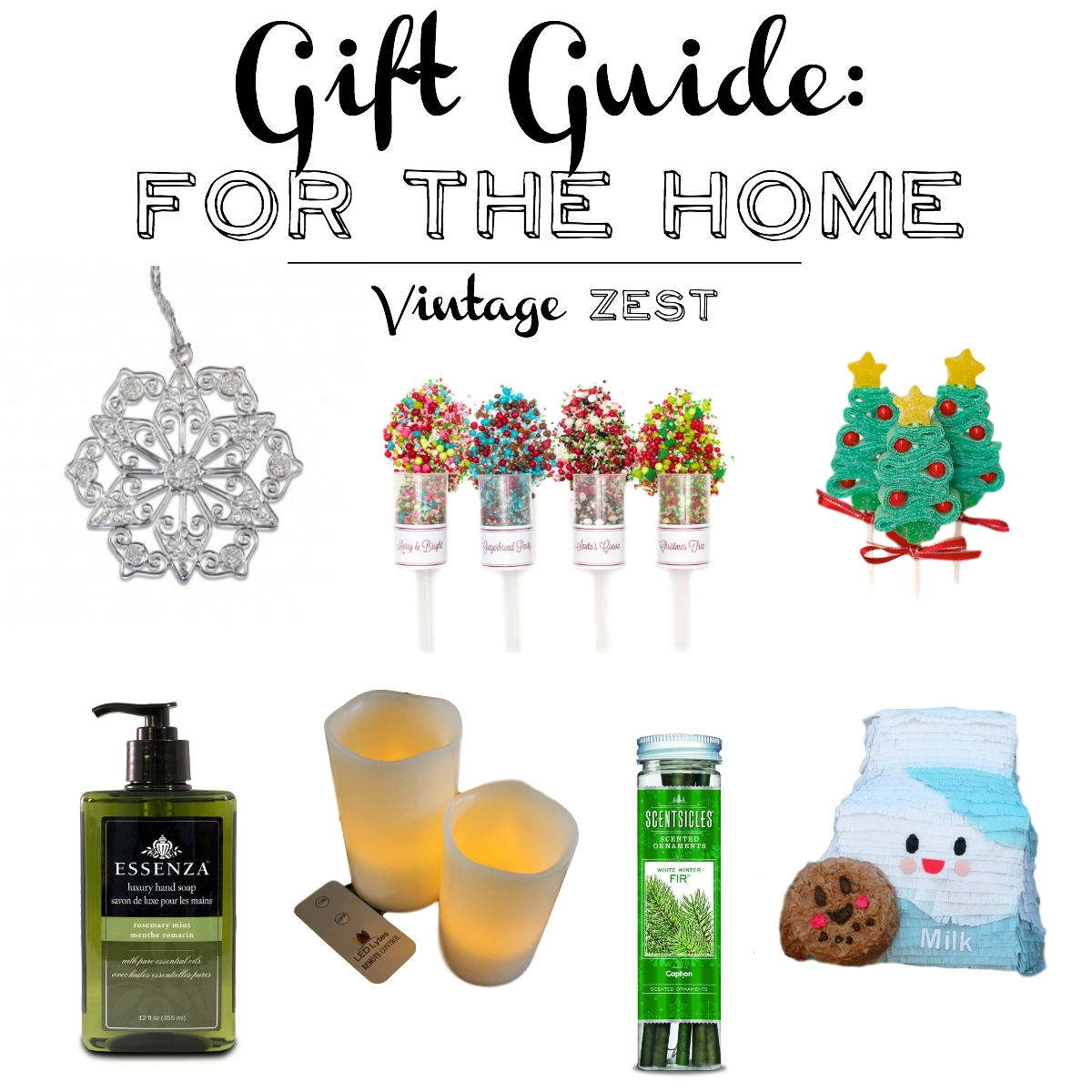 Gift Guide for the Home on Diane's Vintage Zest!  #shopsmall #home #homedecor