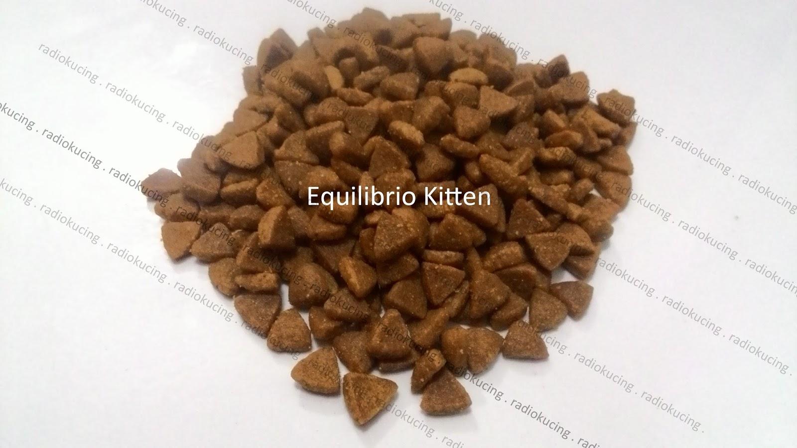Review Makanan Kucing Equilibrio Kitten Cat Food Adult Hairball Repack 500 Gr