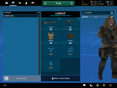 Ghost Recon Online - Storage Loadout