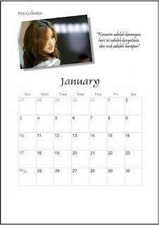 membuat kalender foto online