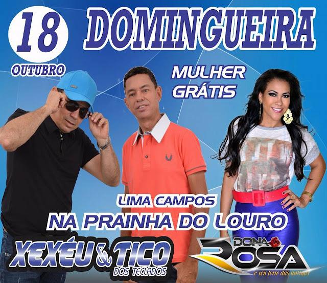 DOMINGUEIRA NA PRAINHA DO LOURO EM LIMA CAMPOS