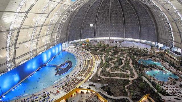 Tropical Island Resort, Alemania. Mejores parques acuáticos del mundo