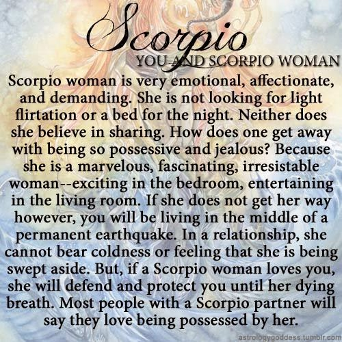 what is a scorpio woman