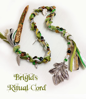Brighids Ritual Cord from MoonsCrafts :)