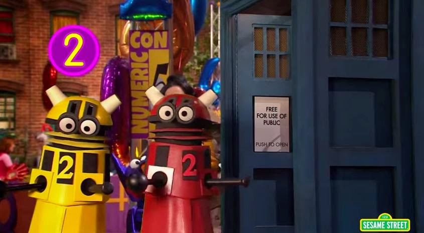 sesame street doctor who