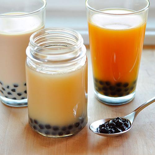 Serve andenjoy the Milk Tea Bubble Tea Recipe Dessert