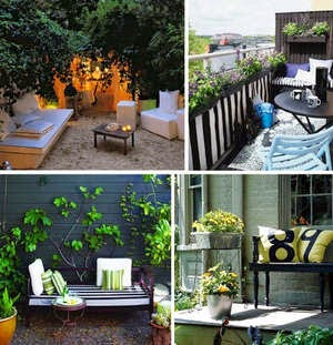 Tricks to Decorating a Small Outdoor Space