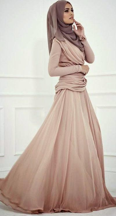 Hijab avec robe moderne