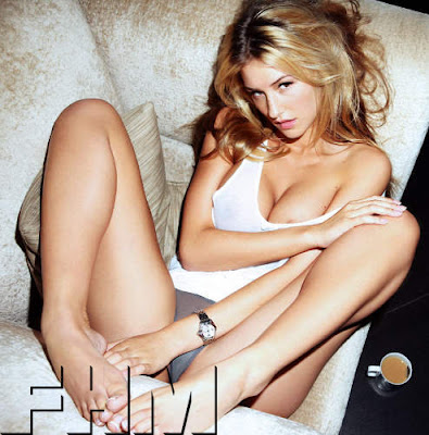 Danica Thrall, FHM Magazine, Sexy Stablemate