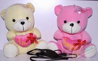 Boneka beruang love 17