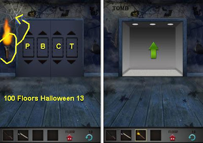 100 Floors Halloween Level 13