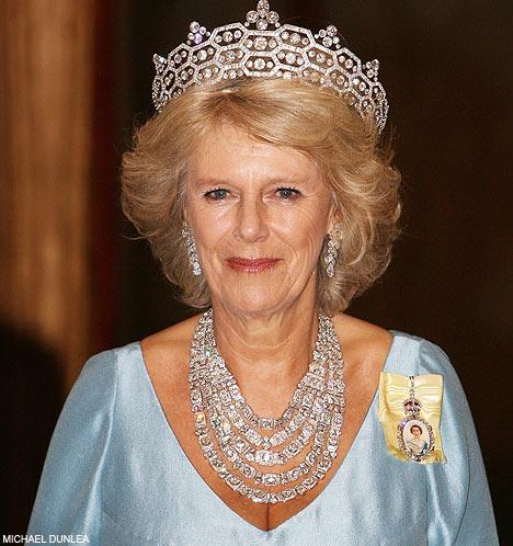 Camilla Duchess of Cornwall Tiara
