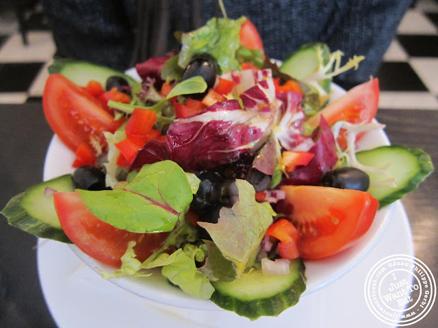 Image of the House salad at Seashell on Lisson Grove in London, England
