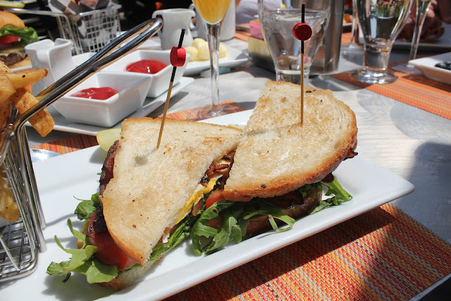 Breakfast BLT at ArtBar, Cambridge, Mass.