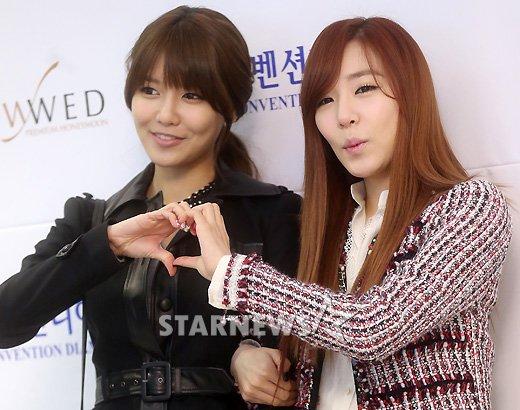 Sooyoung dan Tiffany SNSD Hadir di Pernikahan Hong Rok-gi 19