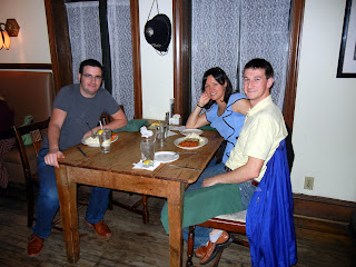 Dinner with friends at the Black Labrador in Houston, TX
