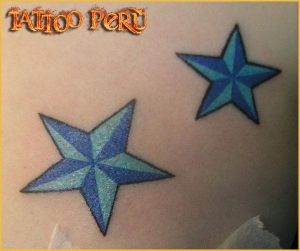 las mejores Fotos de Tatuajes, Diseños de Tatuajes y variedad de Tattoos. También encontrarás Catálogos de Tatuajes y Tribales 01_estrella
