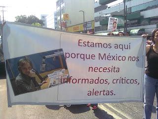 Carta de apoyo a Carmen Aristegui