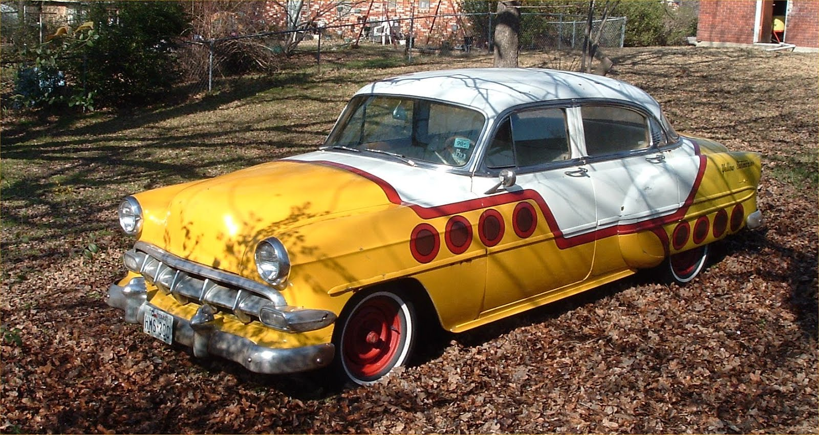 Donsdeals Blog Hot Rod Cars Ingenuity In Action 1959 Nhra Help Old Style Chrome Clamp On Turn Signal The Hamb Above Pics Are Me And My 1954 Chevy Belair I Sold Her Several Years Ago But She Was One Of Favorite All Factory Except Paint Job