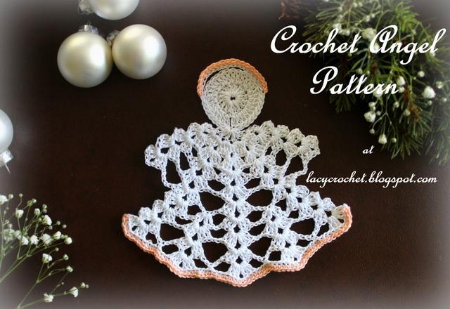 Lacy Crochet Crochet Angel My Free Pattern