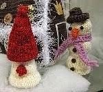 Tonttu ja lumiukko