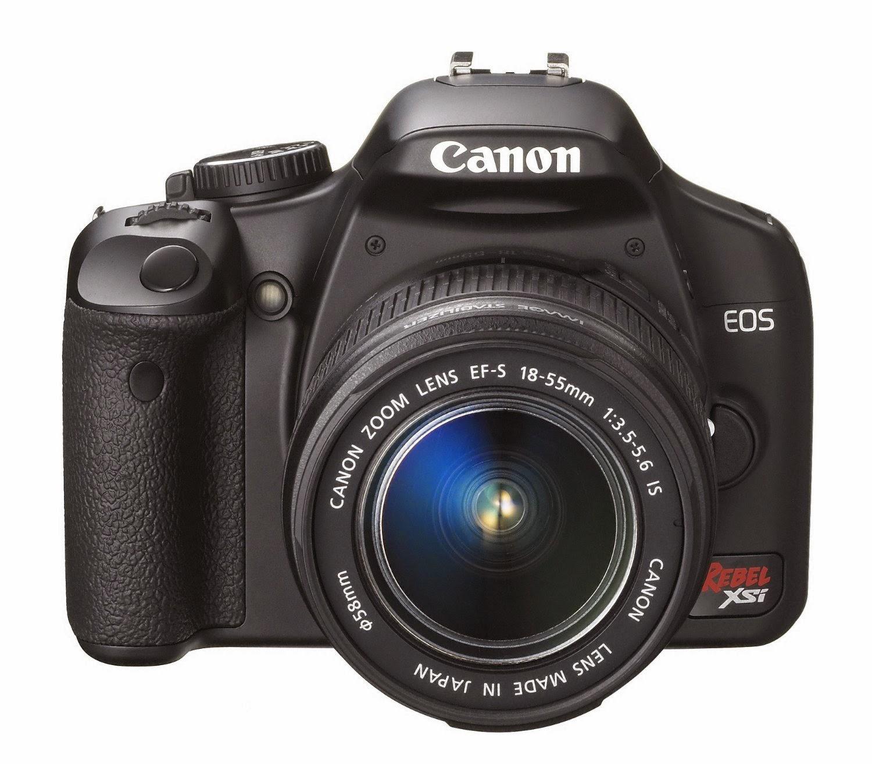 Buy Canon Digital Rebel XSi 12.2 MP Digital SLR Camera Now
