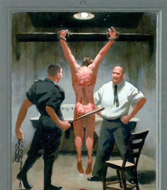 Masha and boy crucified