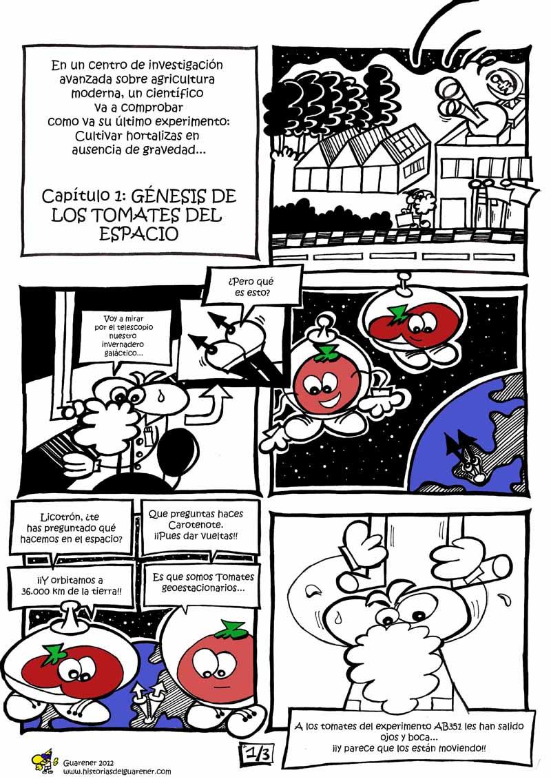 Génesis de los Tomates del Espacio